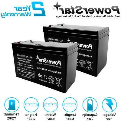 12v 7ah universal 7 amp hour battery