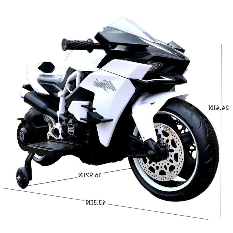 12V Ride-On Toy Motorcycle Bike