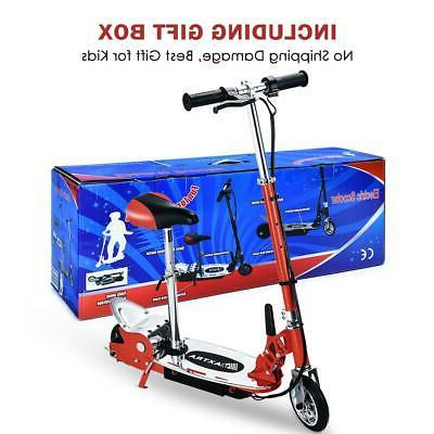 Maxtra E120 177lbs Electric Scooter Motorized Bike Rechargeable