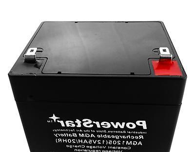 5Ah Battery Electric & -
