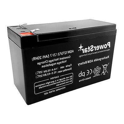 PowerStar® 2 Pack 12V 7.5AH RAZOR & ELECTRIC