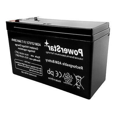 12V 7.5 AH Sealed Battery Razor Electric Scooters E200 E300S