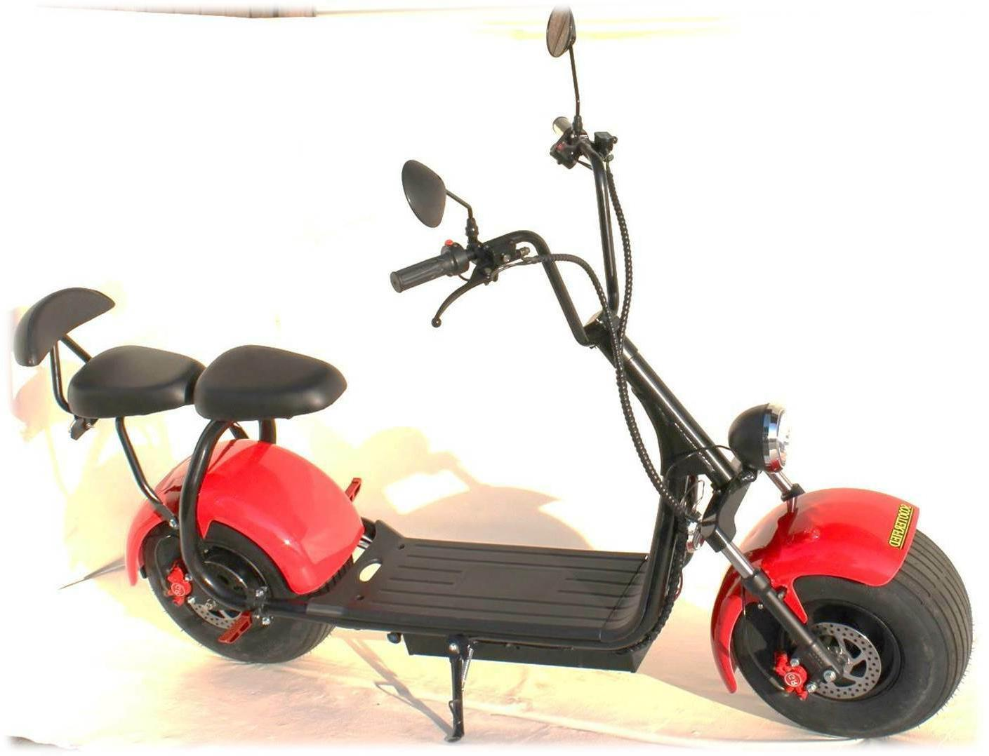 2 Seater Electric Scooterfied.com Chopper Bike watt