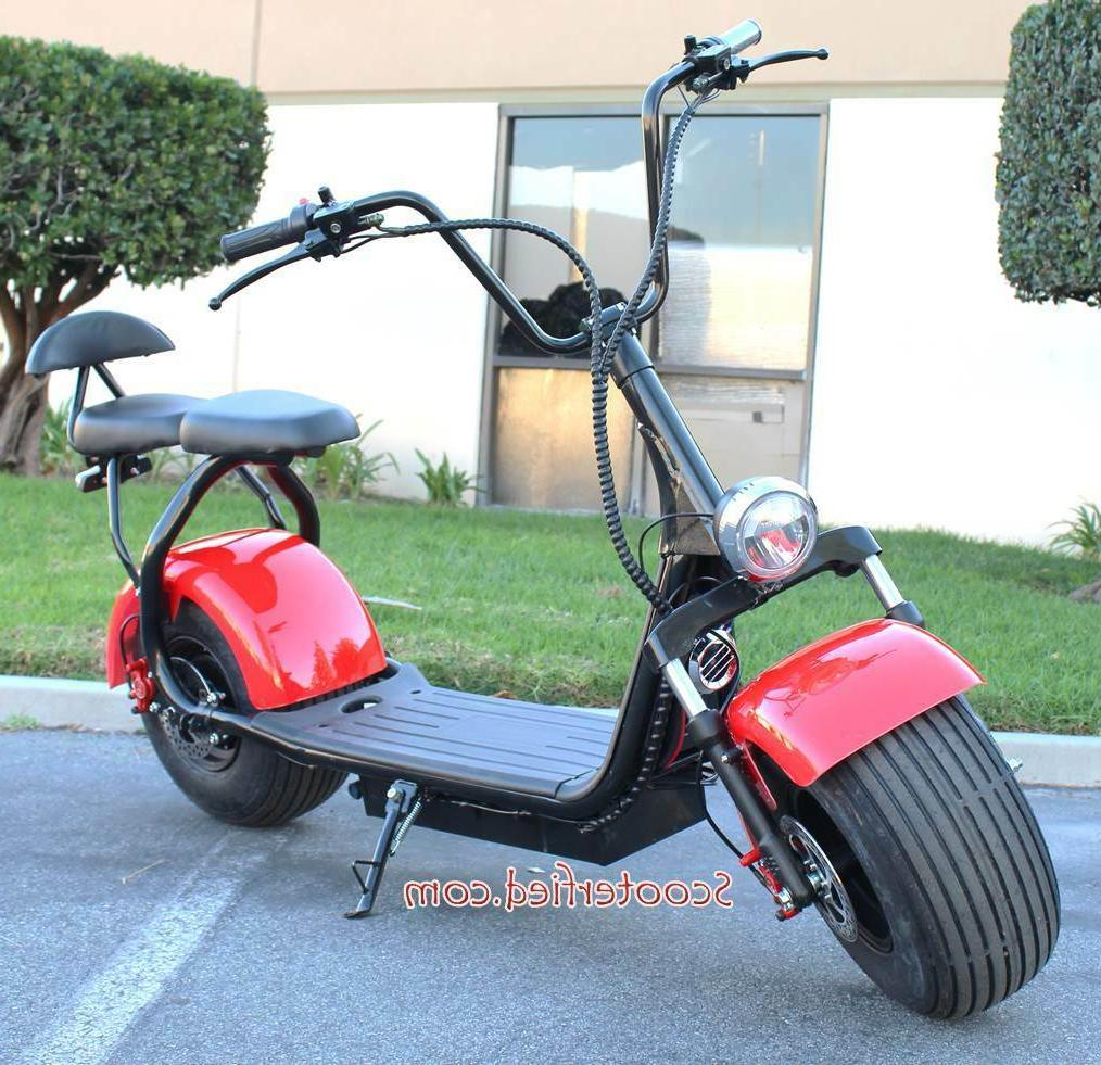 2 seater 2000w electric scooter 18 5