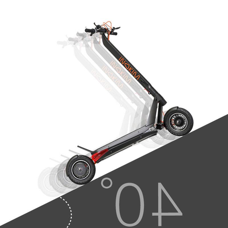 Inokim OX scooter the SUV stand electric