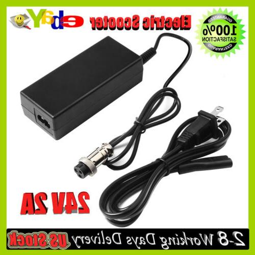 24 volt battery charger for razor electric