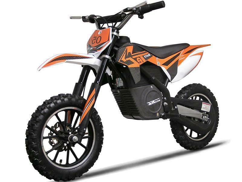 24V ELECTRIC DIRT BIKE 500W Motorcycle MX Pocket Bike Mini B