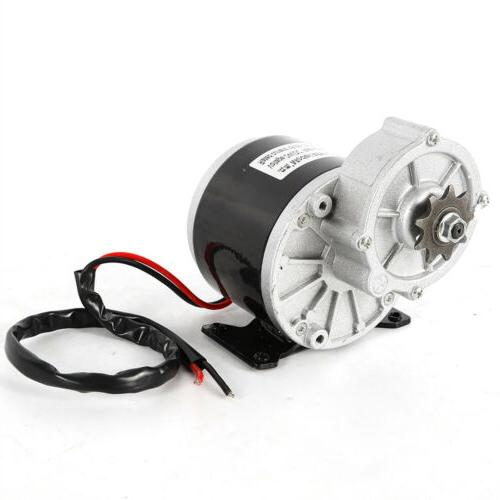 24V motor gear reduction for Sprocket New