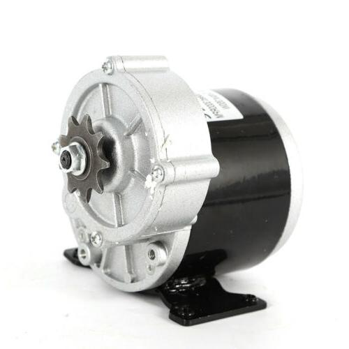 24V electric motor reduction for 9T Sprocket Scooters New