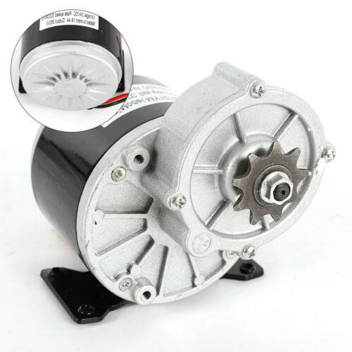 24v electric motor gear reduction for ebike