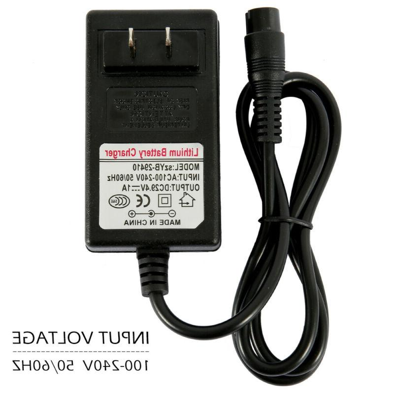 24V Scooter Charger e125 e150, 3.3 FT Power