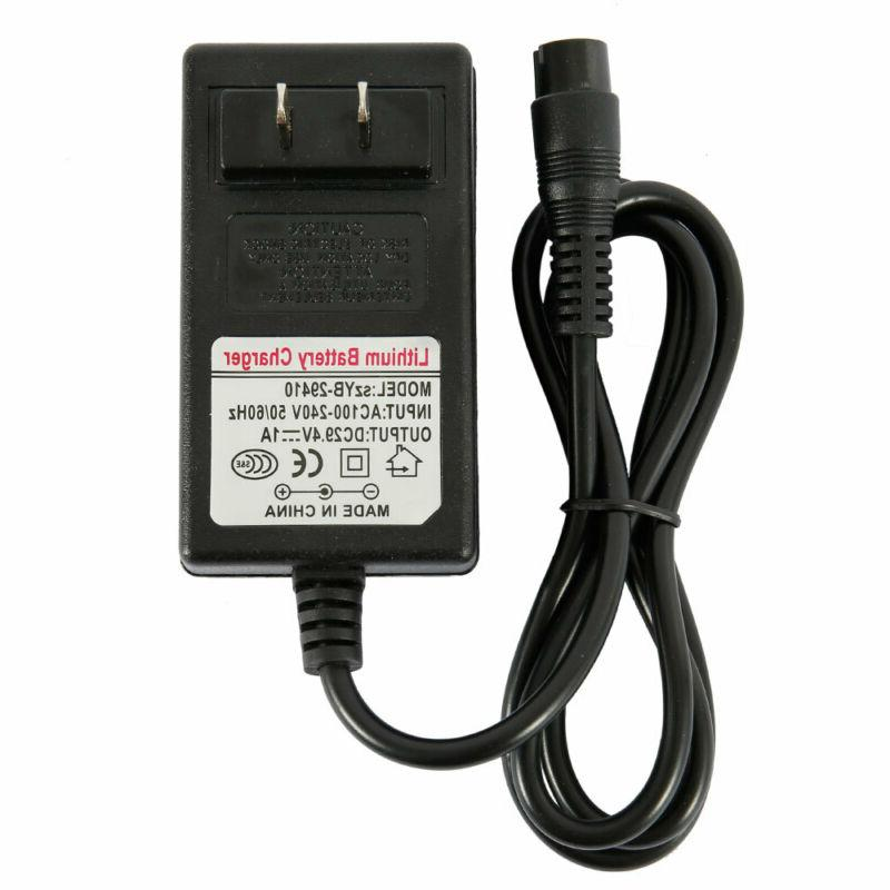 24V Scooter Charger e100 e125 e150, 3.3