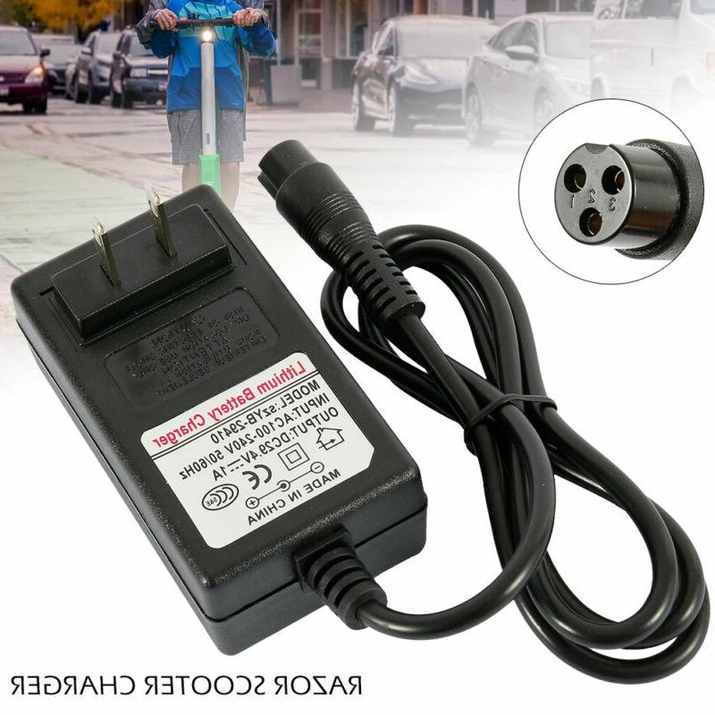 24v for razor electric scooter battery charger