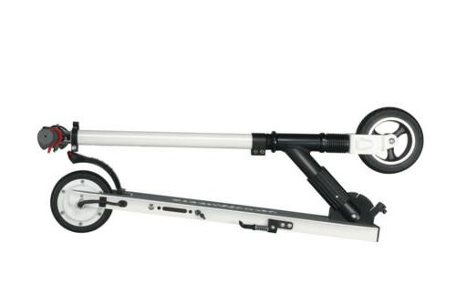 250W Electric Scooter Adult T-Style Sport White