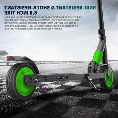Foldable Electric Scooter 14MPH 250W Kick E-Scooter City Com