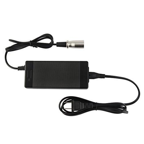 36V 2A output 42V 2A 10 series charger XLR connector for electric bike scooter wheelchair