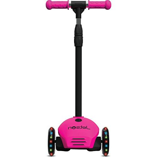 Scooter with Misters, Lean-to-Steer Light-Up for