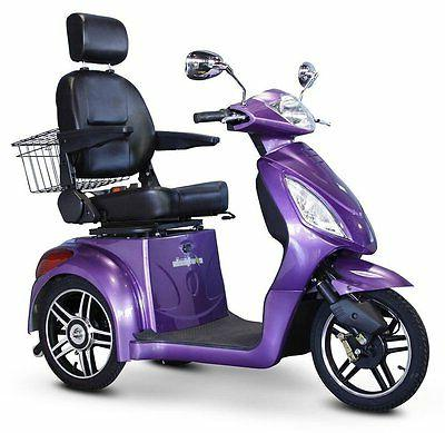 eWheels 3 Scooter, EW-36, Mobility Purple