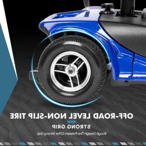 New Powered Wheel Blue