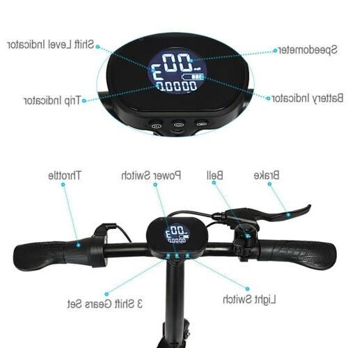 350 W High Pedal-free Outdoor Electric Scooter US