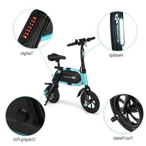 350 W High Speed Pedal-Free Portable Riding Electric Scooter Tour