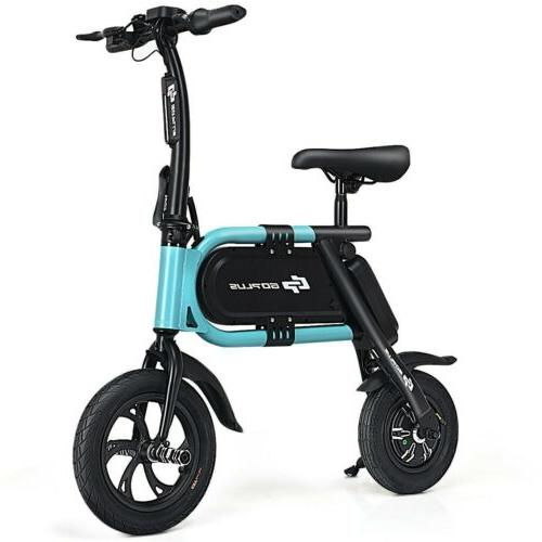 350 W Pedal-Free Folding Riding Electric Tour