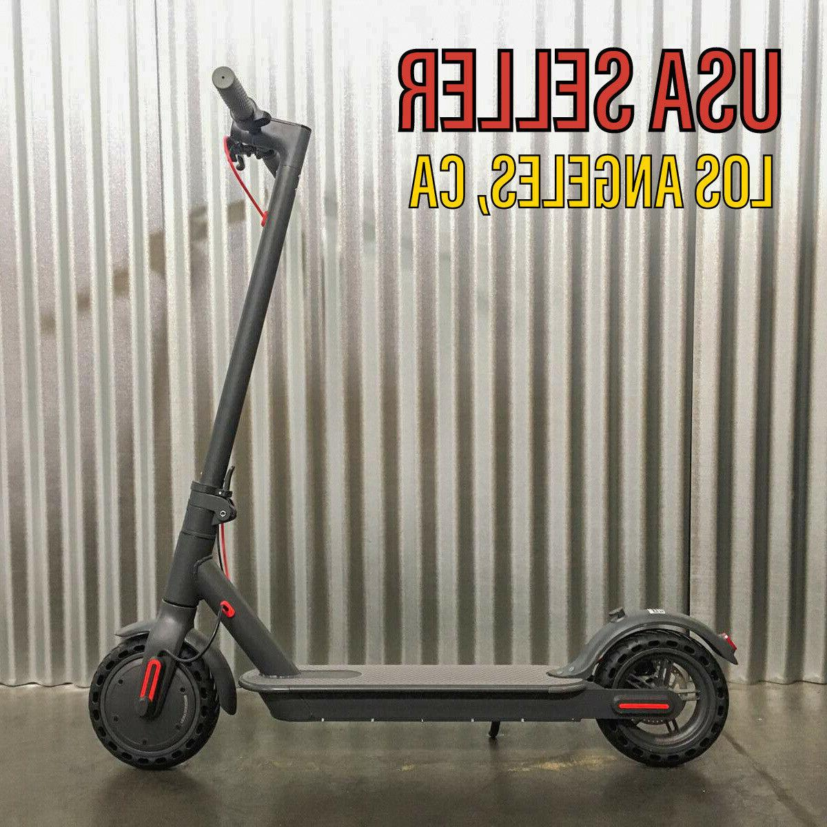 350w electric scooter commuting folding electric black