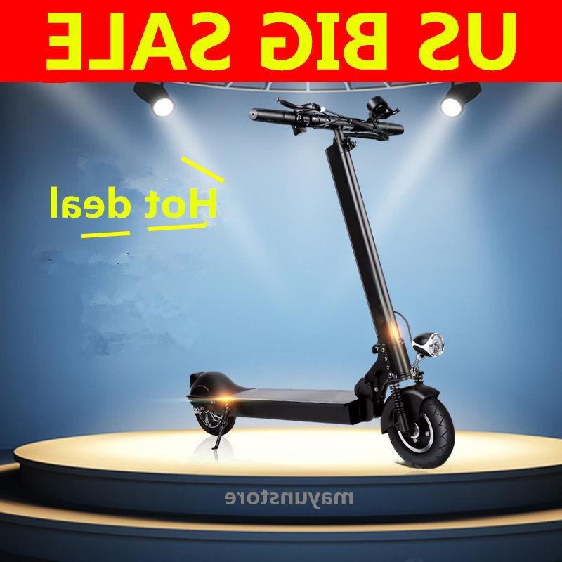 350w foldable electric scooter motor powered motorized