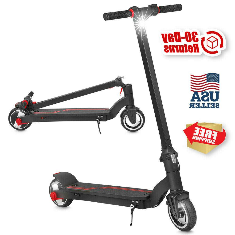 350w folding electric kick scooter 6 5