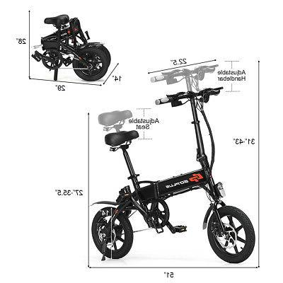 250W High Speed Adult E-Bike 22MPH W/USB