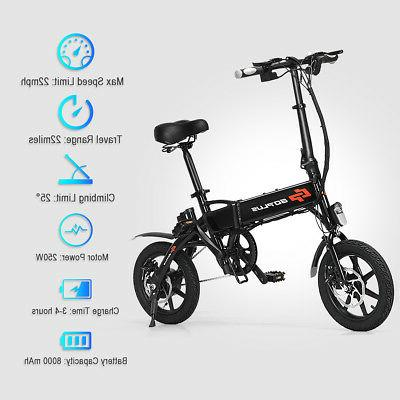 250W Speed Folding Adult Bicycle