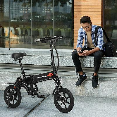 250W Adult Portable E-Bike 22MPH W/USB