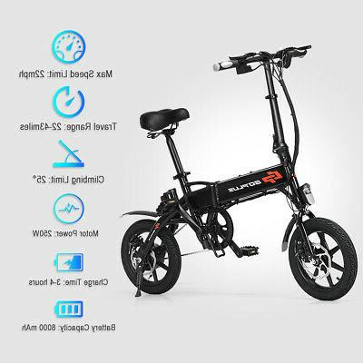 250W High Speed Adult Electric Bicycle E-Bike 22MPH Port