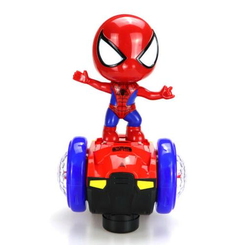 360° Rotating Spider-Man Stunt Light Kids