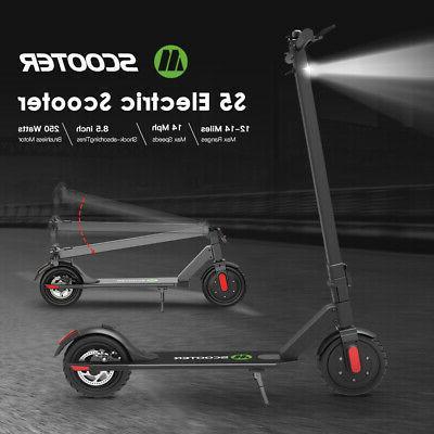 Megawheels S5 Foldable Aluminum E-scooter 250W 14MPH City El