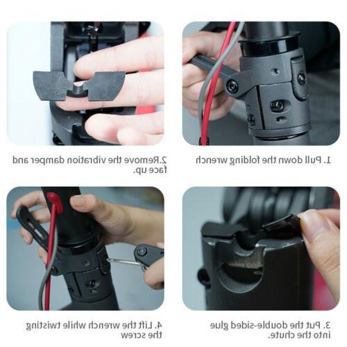 3pcs damper For Xiaomi Mijia M365 Scooter Modification