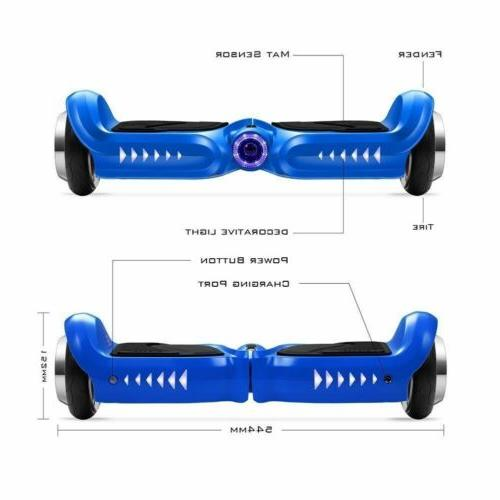 "4.5"" Hoverboard Kids Balancing Electric Bluetooth LED UL2272"