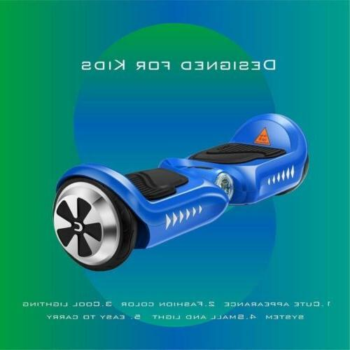 "4.5"" Hoverboard Kids Self Bluetooth LED"