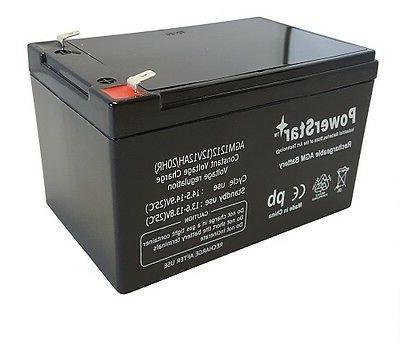 PowerStar 4 Pack - 12V 12Ah Scooter E-Bike Battery