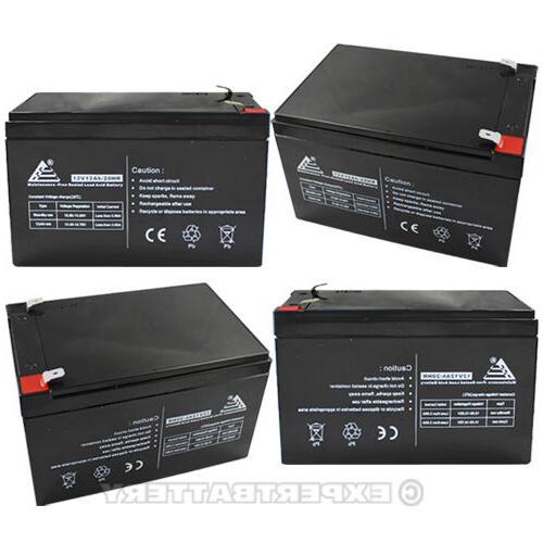 4 12V 12Ah Ebike Battery Batter