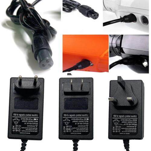 42v 1a battery charger adaptor power supply
