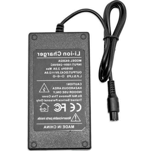 42V 2A Charger For SWAGTRON T580 T6 T8