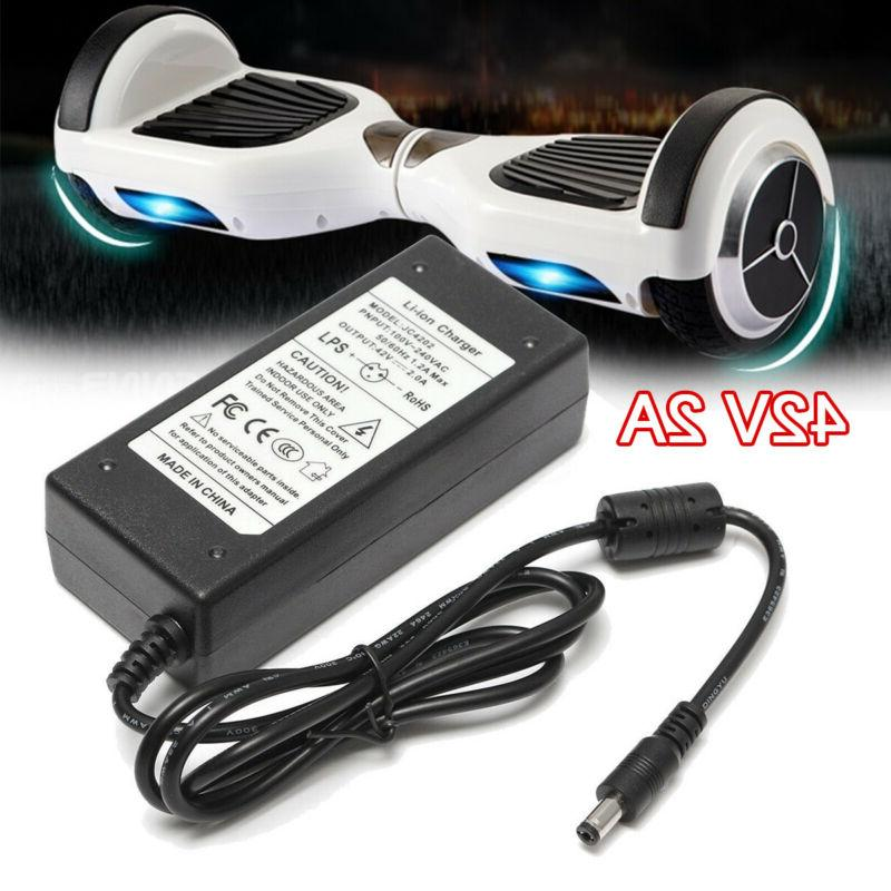 42v 2a power supply battery adapter charger