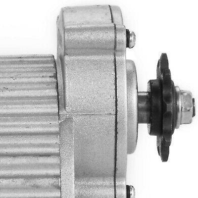 450 W motor gear reduction ebike 410-9T Sprocket 420RPM Scooters