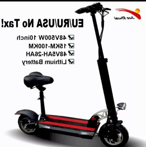 48v 500w strong power electric scooter 100km