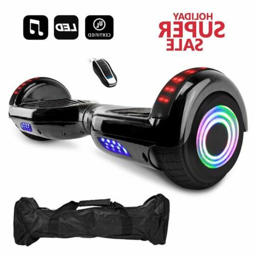 "6.5"" 2-Wheels Scooter Hoverboard Hoover LED"