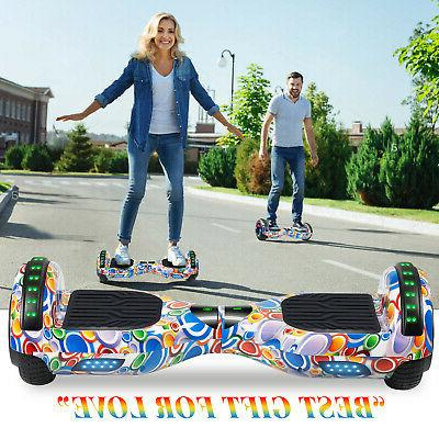 """6.5"""" terrain Hoverboard Chrome Electric Balancing"""