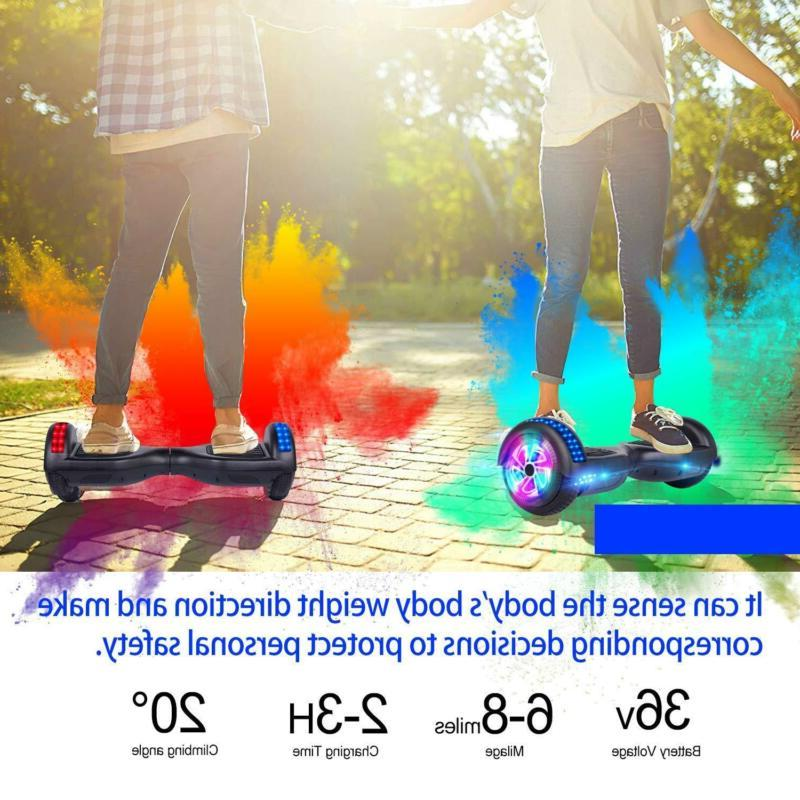 """6.5"""" Electric Hoverboard Self Scooter UL"""