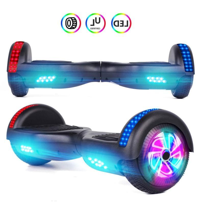6 5 electric colorful hoverboard self balancing