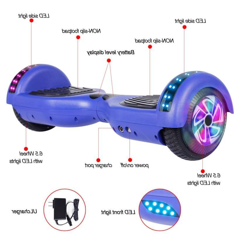 """6.5"""" Bluetooth Scooter Hoverboard UL2272 CE Bag"""